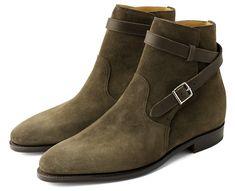 John Lobb - Olive Boots ... WOW
