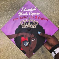 Black graduates did not hold back with bringing the Black Girl Magic and Black Boy Joy to their grad caps this year. From celeb inspired styles to salutes to school spirit, the class of 2017 did not disappoint. Graduation Party Desserts, College Graduation, Graduation Outfits, College Outfits, Graduation Cap Designs, Graduation Cap Decoration, Grad Pics, Graduation Pictures, Graduation Hairstyles With Cap