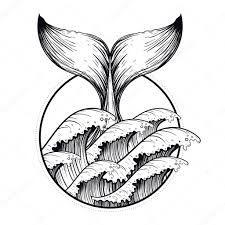 Resultado de imagen para waves vector tattoo