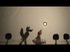 """""""Caperucita Roja según el lobo"""" Sombras Chinescas - YouTube"""