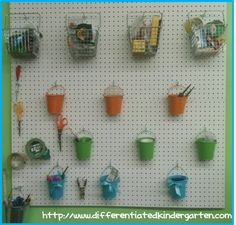 Small Classroom space saving secrets.  A Differentiated Kindergarten: Making the most of my small space.