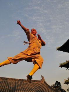 Kung Fu shaolin students.