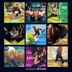 Sport flyer with photo Social Media Art, Social Media Banner, Social Media Template, Social Media Design, Social Media Graphics, Flyer Design, Ad Design, Leaflet Template, Banner Design Inspiration