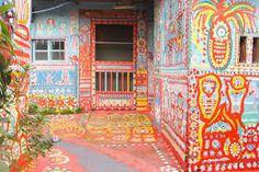 「rainbow village taichung」的圖片搜尋結果