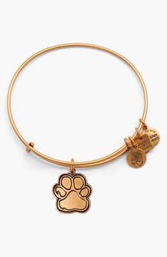 This Alex and Ani bracelet is a cute way to openly share love for animals.