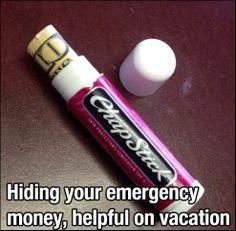 Slick way to hide your money