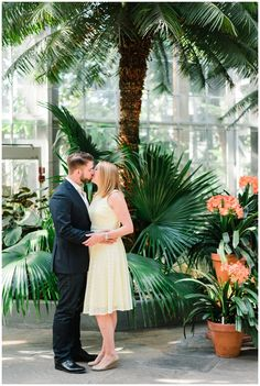 Engagement Session Outfit Inspo | DC Engagement photos | DC Wedding Photographer | DC Botanical Gardens
