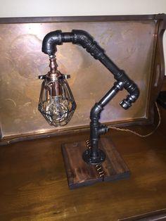 Industrial Steampunk inspired lamp par PhilsOriginals sur Etsy