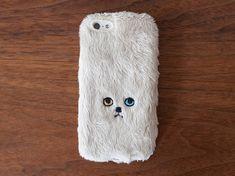cat phone case.