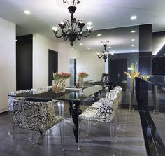 Contemporary Dining Room Furniture | Some of my Favourite designs in mixing modern & Traditional styles ...