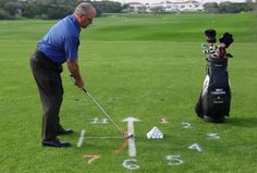 Getting a Great Golf Stance, Step-by-Step: Alignment