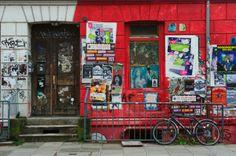 St pauli street art love this City hamburg