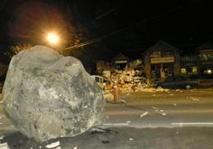 Cayeron Piedras gigantes en San Martin de los Andes, Argentina