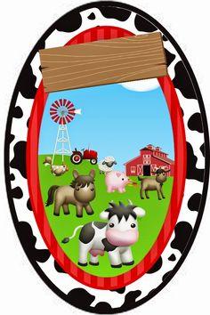 Farm Animal Party, Farm Party, Barn Parties, Western Parties, Farm Birthday, 2nd Birthday Parties, Baby Shawer, Farm Theme, Scrapbook Embellishments