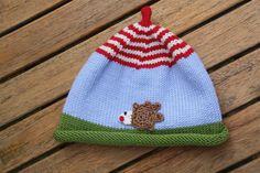 Mützen - Igelchen Igelchen ... ♥, Mütze für Kinder + Babys - ein Designerstück von -Wimmelkinder- bei DaWanda
