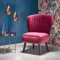 #homedecor #interiordesign #inspiration #decor #design #velvet  #burgundy #livingroom Interior S, Interior Design, Lounge, Elegant, Accent Chairs, Burgundy, Art Deco, Glamour, Living Room