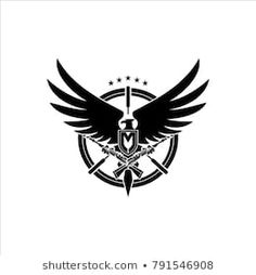 letter M with eagle logo templatem military theme Knee Tattoo, Arm Band Tattoo, Branding Design, Logo Design, Graphic Design, Good And Evil Tattoos, Best Photography Logo, Eye Logo, New Background Images