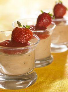 Desserten laves dagen før og serveres kold. En skøn afslutning på et godt måltid...