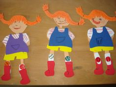 ARGE Kleinschulen in Vorarlberg: > Textiles Werken Pippi Longstocking, Alice, Pepsi, Kids Toys, Ronald Mcdonald, Crafts For Kids, School, Projects, Fictional Characters