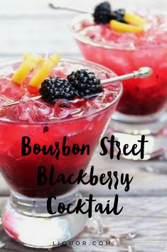 Heading to #Bourbon #Street this Mardi Gras? Well even if you aren't you can still enjoy this blackberry brut #cocktail