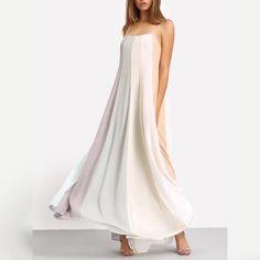 Multicolor Patchwork Spaghetti Strap Maxi Dress  Rs. 2399  #spaghetti #maxi #long #dresses #newarrivals #shopnow #zooomberg