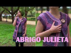 Abrigo Julieta a crochet! - YouTube