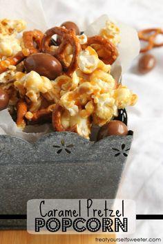 Caramel Pretzel Popc