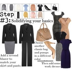 How to build a Wardrobe Step #3