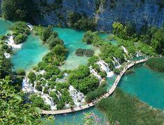 Kroatien - Plitvicer See.  Den passenden Koffer für eure Reise findet ihr bei uns: https://www.profibag.de/reisegepaeck/