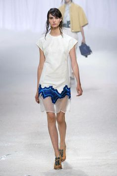 Spring 2014 trends - sheer  3.1 Phillip Lim Spring 2014 Ready-to-Wear Collection