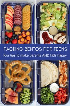 How to Pack a Bento Lunch for a Teen or Middle Schooler