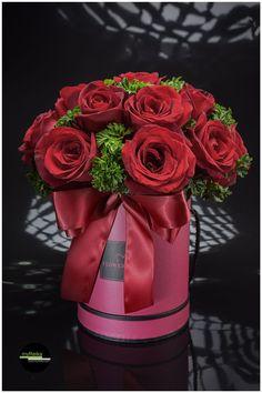 Roses in a box   www.myreika.com Enquiries@myreika.com