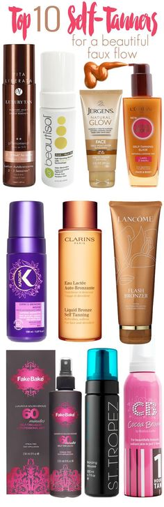 Top 10 Self-Tanners to Fake a Beautiful Faux Glow
