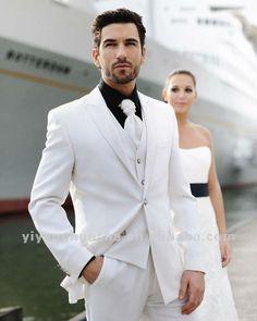 costumes mariage homme blanc - Recherche Google