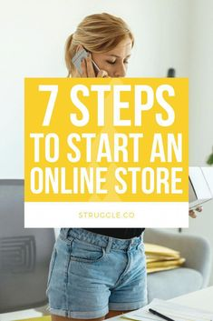Starting an Online Store: 7 Steps to Grow Your Business from Home,How to start an Online Store at Home - Learn the step-by-step ways to start an online business at home to make extra money (or a full-time income). Start A Business From Home, Start Online Business, Creating A Business Plan, Online Business Opportunities, Starting Your Own Business, Business Planning, Business Tips, At Home Business Ideas, Create Your Own Business