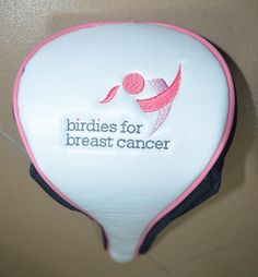 Birdies for Breast Cancer Custom Golf Head Covers