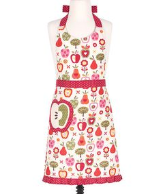 Loving this Apple a Day Apron – Kids on #zulily! #zulilyfinds