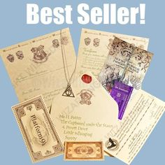 Witchcraft & Wizardry school Acceptance Letter Full Set