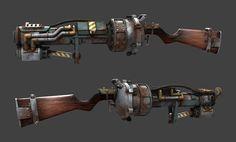 Railspike WIP Picture  (3d, fan art, weapon, game art)