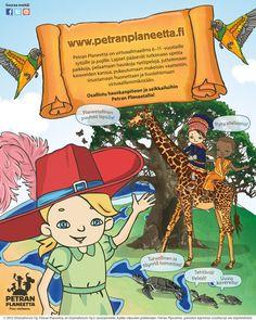 Petran Planeetta on täynnä mukavaa tekemistä lapsille! www.petranplaneetta.fi