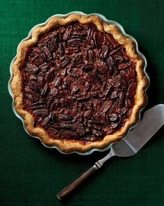 Brandied Pecan Pie Recipe