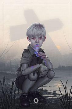 Ilustraciones digitales de Eran Fowler