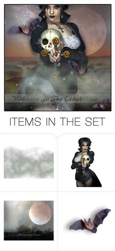 """""""Welcome To The Other Side"""" by necyluv ❤ liked on Polyvore featuring art"""