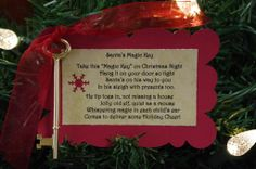 Order Santa's Magic Key and personalized letters from Santa for your children.  Postmarked from the North Pole if ordered by Dec. 5, 2012.  Imagine your child's surprise when they hear that Santa has sent mail just for them! All proceeds benefit the National Children's Cancer Society.