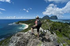 Climbing anything can be a chore but this upthrust of ecological wonder - poking from the end of Lord Howe Island like some sort of bonus after you've discovered paradise - is worth every minute of the eight hours required to say you've been to the 875-metre summit. Regarded as one of the best day walks in the world, the higher you go the sweeter it gets, ending in a Tolkienesque forest of stunted trees bearded with shaggy green moss