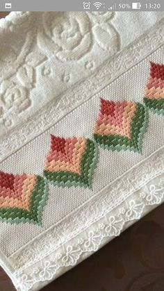 """""""There is a heart corresponding to the heart that satisfies the most need of man … Broderie Bargello, Bargello Needlepoint, Bargello Quilts, Needlepoint Stitches, Needlework, Hardanger Embroidery, Cute Embroidery, Beaded Embroidery, Cross Stitch Embroidery"""