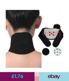 a542e1668fd Orthopaedics   Supports Self Heating Tourmaline Therapy Neck Headache Pad Brace  Support Collar Strain  ebay