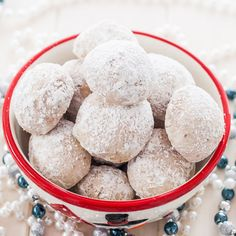 Mexican Wedding Cookies – don't get fooled by the name, these cookies will make a great addition to your favorite holiday cookies.