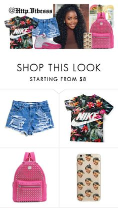 """""""Untitled #873"""" by jazaiah7 ❤ liked on Polyvore featuring MCM"""