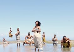 12 Stunning Photos of People Taking a Stand for Nature 10. Fiji's Climate Warriors take a stand for the future stability of their nation.